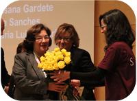 Career award to Hermínia de Lencastre
