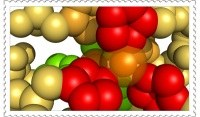 Enzyme structure on stamp?