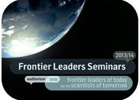 Frontier Leaders Seminar Series re-starts